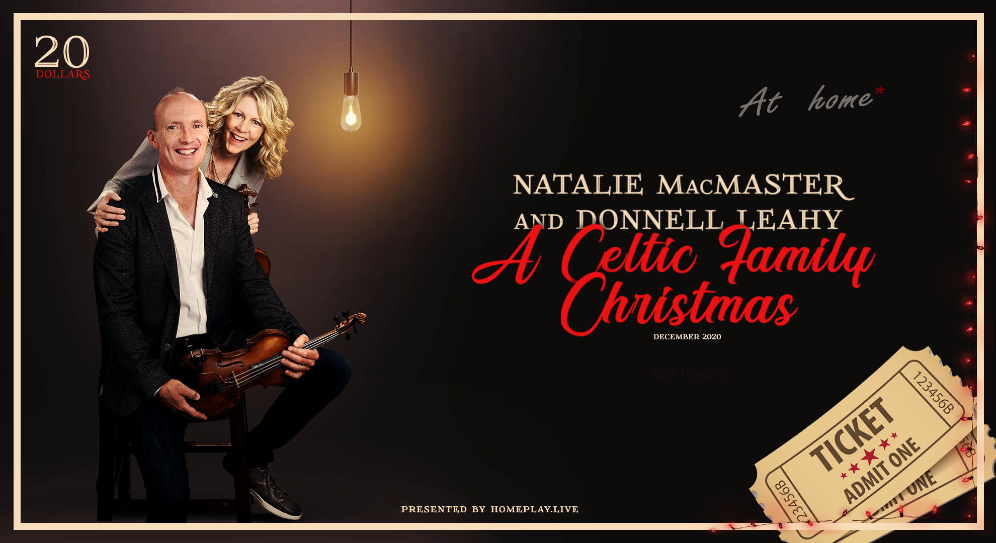 Natalie & Donnell's Celtic Family Christmas (at home!)
