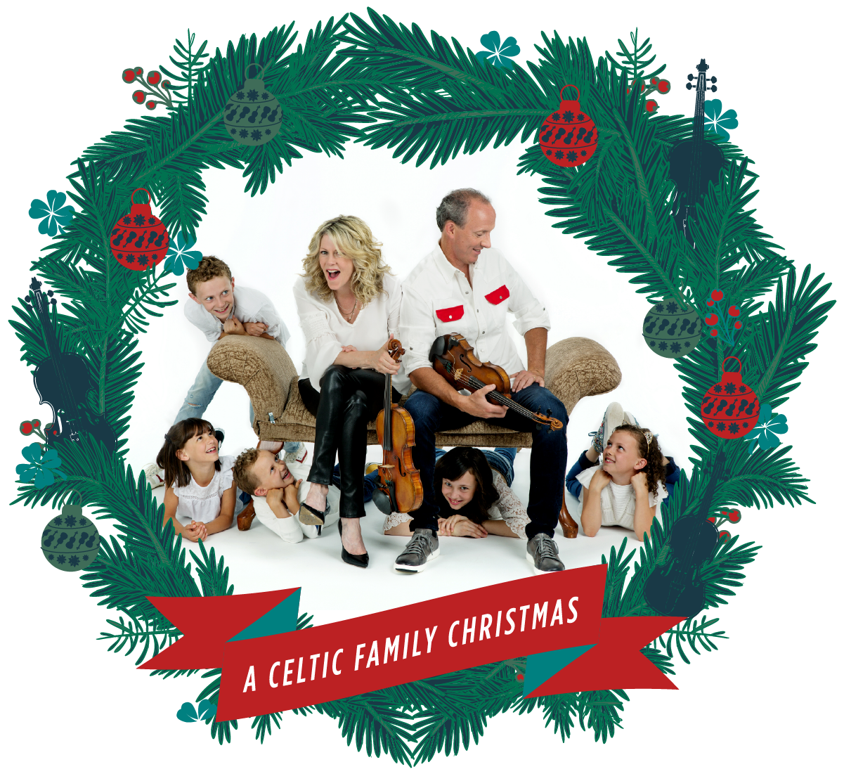 Celtic Family Christmas Banner
